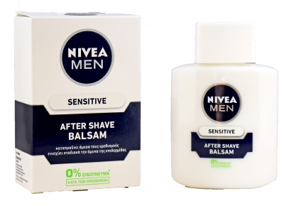 AFTER SHAVE NIVEA BALSAM SENSITIVE ΛΕΥΚΟ 100ML K/12