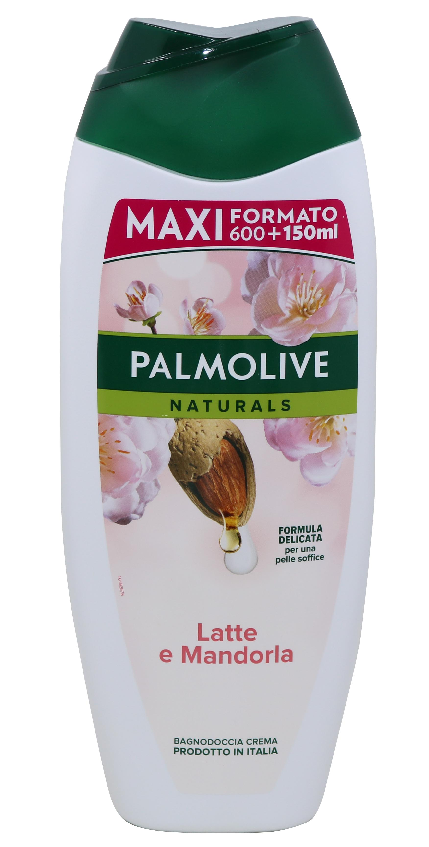 ΑΦΡΟΛΟΥΤΡΟ PALMOLIVE MILK AND ALMOND 750ML Κ/12