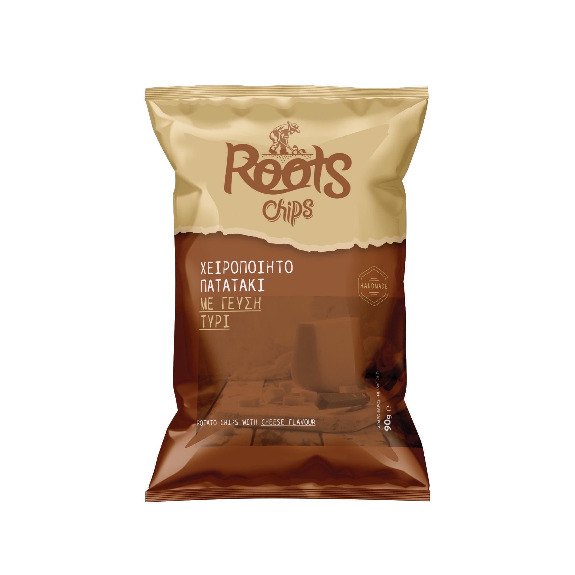 CHIPS ROOTS ΤΥΡΙ 90ΓΡ Κ/20