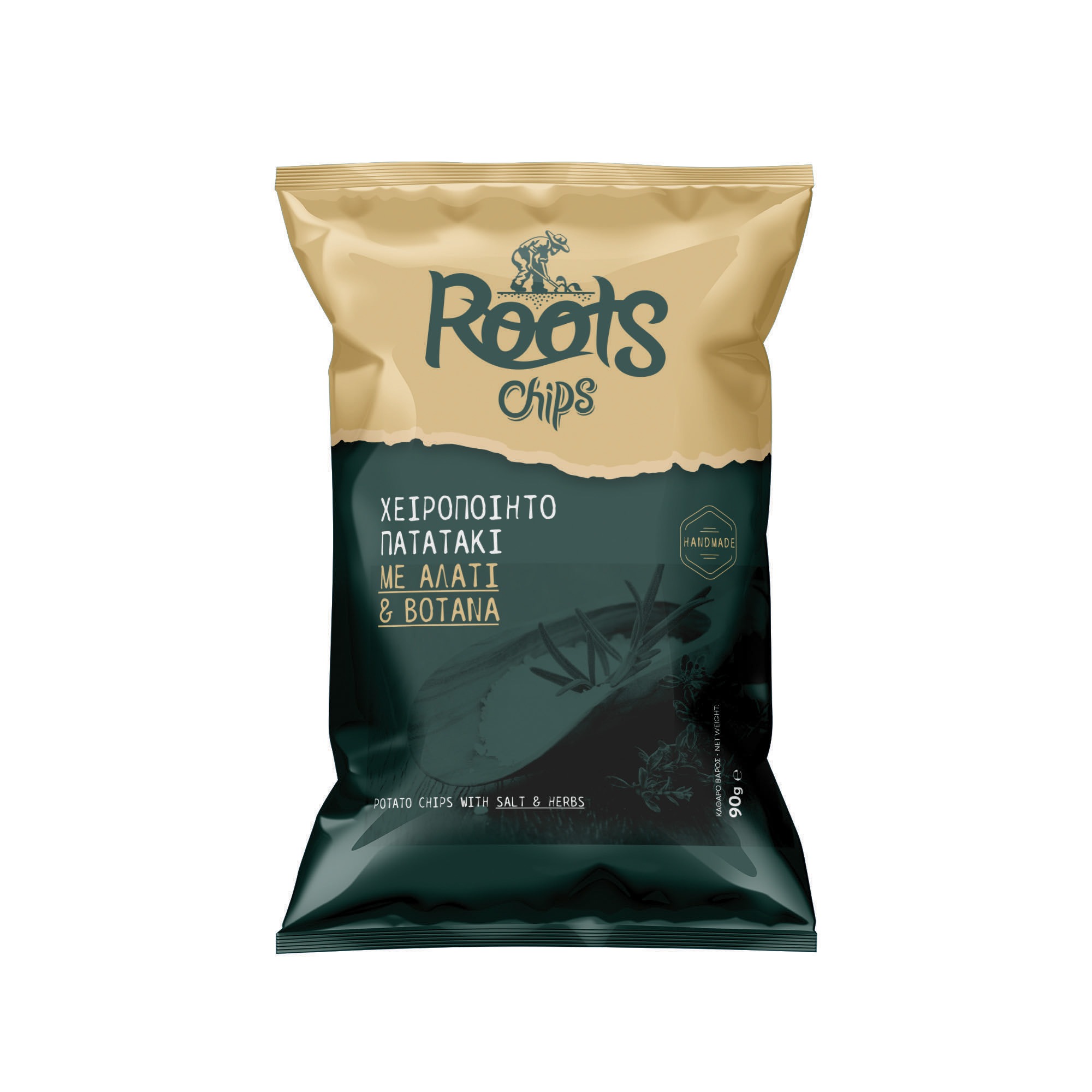 CHIPS ROOTS ΒΟΤΑΝΑ 90ΓΡ Κ/20