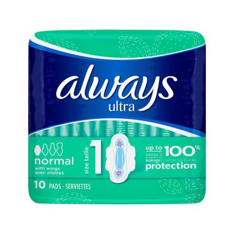 ΣΕΡΒΙΕΤΑ ALWAYS NORMAL ULTRA PLUS 10TEM Κ/16
